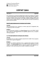 2007-04 ASB Q & A